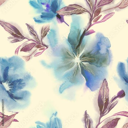 kwiaty-w-akwarela-bezszwowe-wzor-recznie-malowane-ilustracji