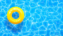 Water Pool Summer Background W...