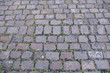 Cobblestone paving with natural stone.