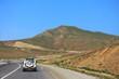 Mountain landscape from Ismayilli region of Azerbaijan in summer