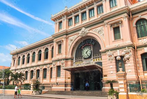 Fotografie, Obraz  Saigon Central Post Office