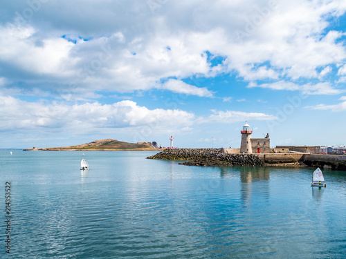 Photo Sailboats in Howth Harbor