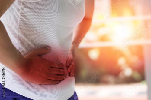 Fotografia  stomachache