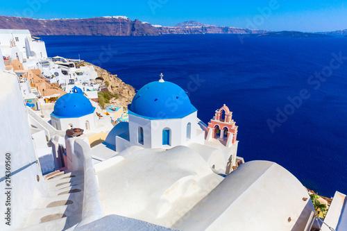 Photo  Santorini island, Greece