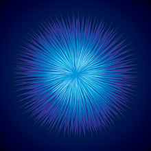 Abstract Background. Explosion. Vector Drawing