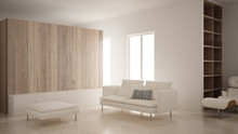 Minimalism, Modern Living Room...