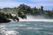 Am Rheinfall in Schaffhausen, Schweiz