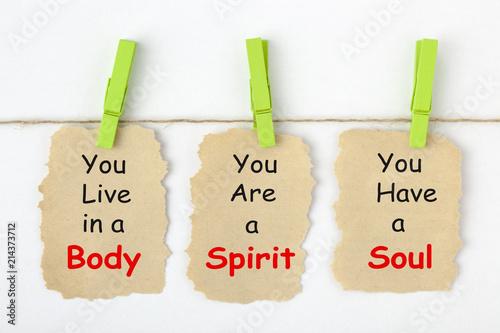 Fényképezés Body Spirit Soul Concept