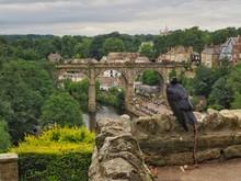View Of Knaresborough,Yorkshire,UK.