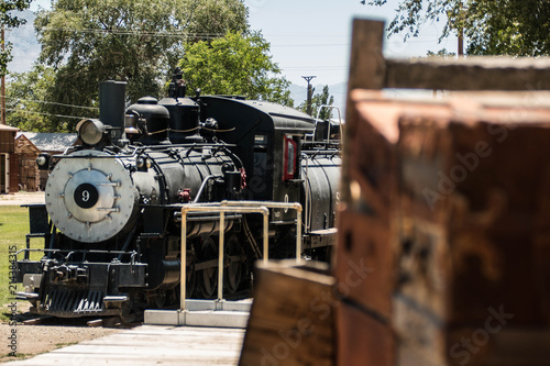 Fotografie, Obraz Train at Depot