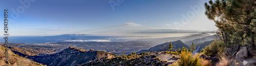 Poster Cote Dramatic Panoramic of Santa Barbara