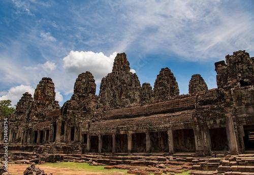 Deurstickers Bedehuis アンコールトム カンボジア シェムリアップ バイヨン寺院