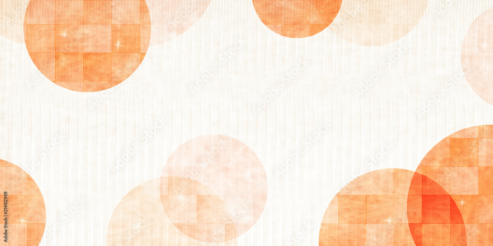 Fototapety, obrazy: 秋 和紙 背景 テクスチャ