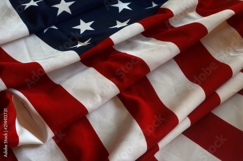 Canvas Prints Textures Flag USA background