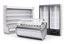 Freezer Showcase, Refrigerated...