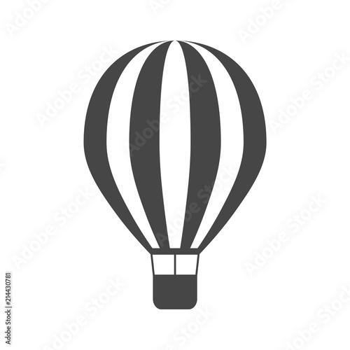 Fényképezés  Vector hot air balloon icon