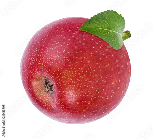 Foto op Aluminium Vruchten Apple on a white background