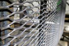 Metal Mesh Dense From Large Rods