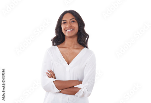 Fototapeta beautiful young Indian woman obraz