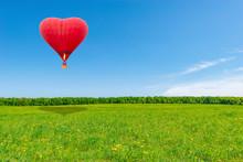 Red Hot Air Balloon.