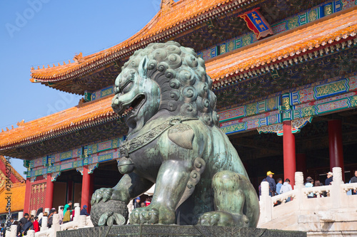 Fotobehang Peking The Forbidden City