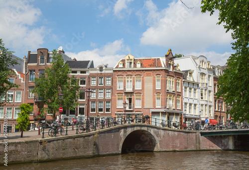 Foto op Canvas Amsterdam Amsterdam