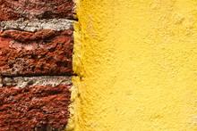 Muro Rosso E Giallo