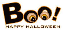 Happy Halloween Boo Eye Balls ...