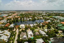 Aerial Photo Of Downtown Naples Florida Shot With A Drone