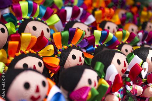 Papel de parede Mexican doll