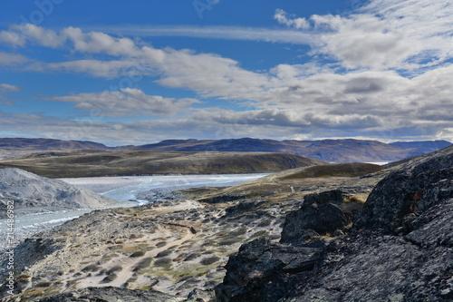Spoed Foto op Canvas Poolcirkel Greenland