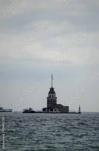 Photo  Maiden's Tower in Istanbul