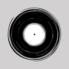 Vinyl Draw Design Vector