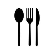 Cutlery Icon Vector Icon. Simp...