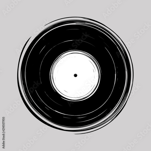 Fotomural  Vinyl draw design vector