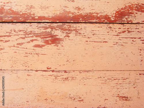 Old Paint Wooden Fence Texture Orange Background Copy E