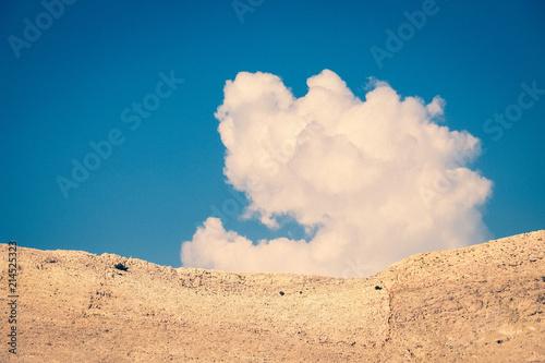 Foto  nuage souriant