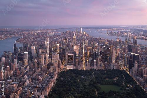 Aerial Manhattan Radical