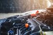 Car mechanic auto repair service