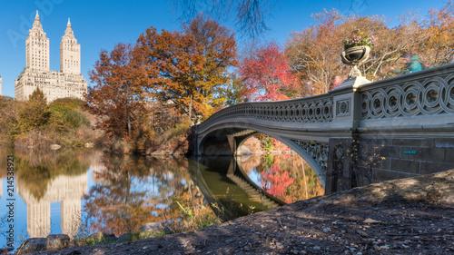 Central Park in Autumn, New York