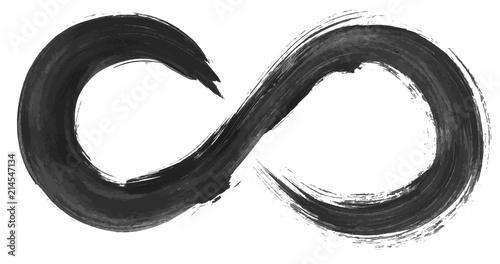 Fototapeta Grunge infinity symbol