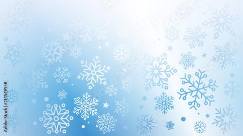 Fototapeta płatki śniegu tło wektor obraz