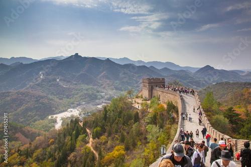 Tuinposter Chinese Muur 万里の長城