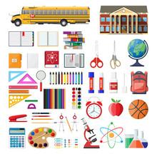 Big School Set. School Supplie...