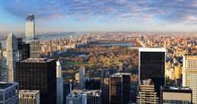 Central Park Aerial View, Manh...