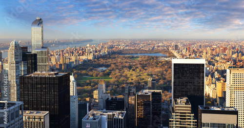 Fotobehang Amerikaanse Plekken Central Park aerial view, Manhattan, New York