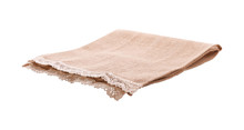 Empty Canvas Napkin With Lace,...