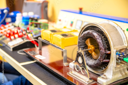 Model of electric motor