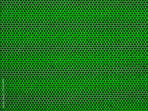 Green metak or steel mesh screen background - 214569991