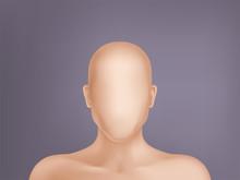 Vector Faceless Human Model, B...